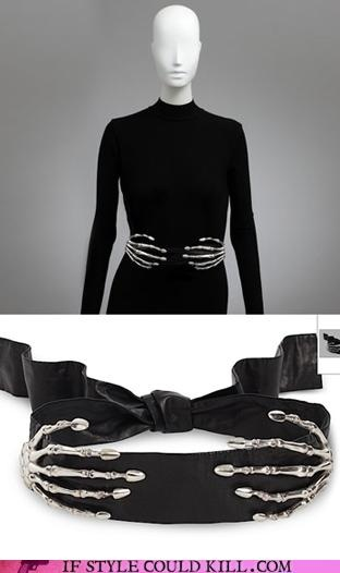 skeleton hands belt- it may be weird but I really love this belt!!! It's edgy but pretty at the same time exactly my style!