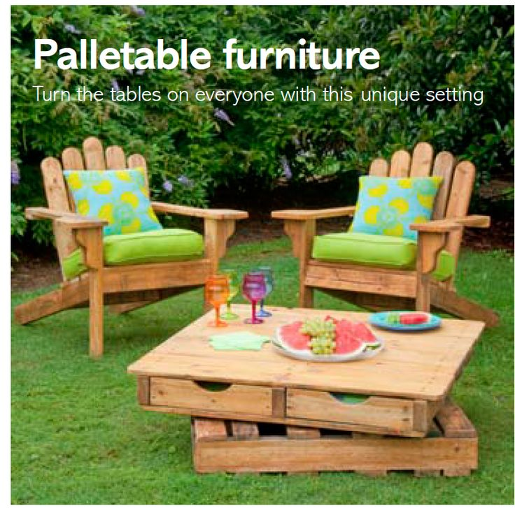 Diy Pallet Furniture For The Outdoors Costs 30 From B