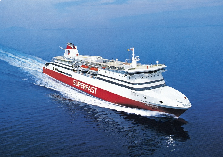 Superfast-Ferries Italy to Greece