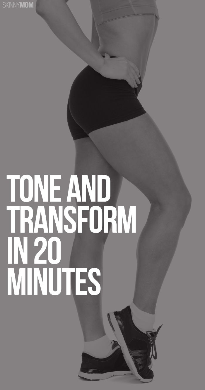 20 minutes at home? This will be your go-to workout.