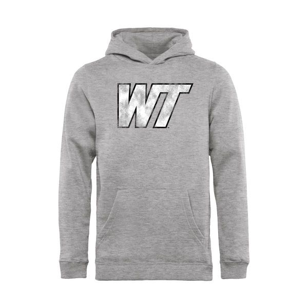 West Texas A&M Buffaloes Youth Classic Primary Logo Pullover Hoodie - Ash - $54.99