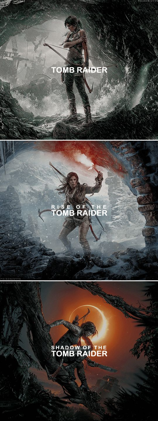 Lara Croft's origin trilogy #xboxgames – Moonded