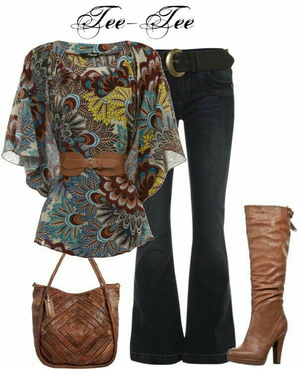 This is a gorgeous top! Don't love the belt, though. 17