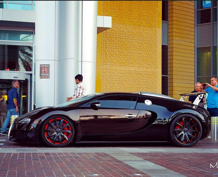 Black Bugatti Veyron on MPC Black Wheels by Mewzhang