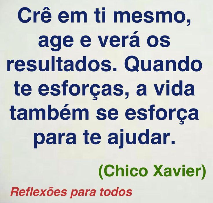 Acesse reflexões de Chico Xavier e outras (clique na imagem)