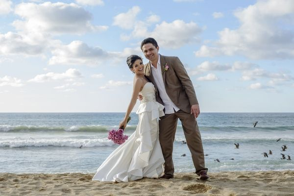 Paulina & Victor Hacienda San Pancho San Francisco,Nayarit. Mexico www.lovemotionweddings.com Beach Wedding!