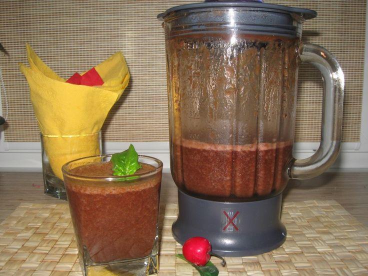 Здоровье и молодость: Здоровый завтрак. Коктейль из ягод со шпинатом