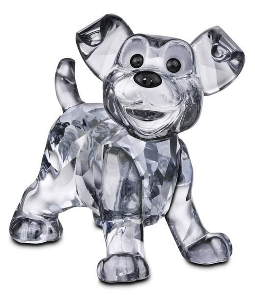 Swarovski Disney Scamp - Puppy from Lady and the Tramp.  Swarovski Crystal Figurine.