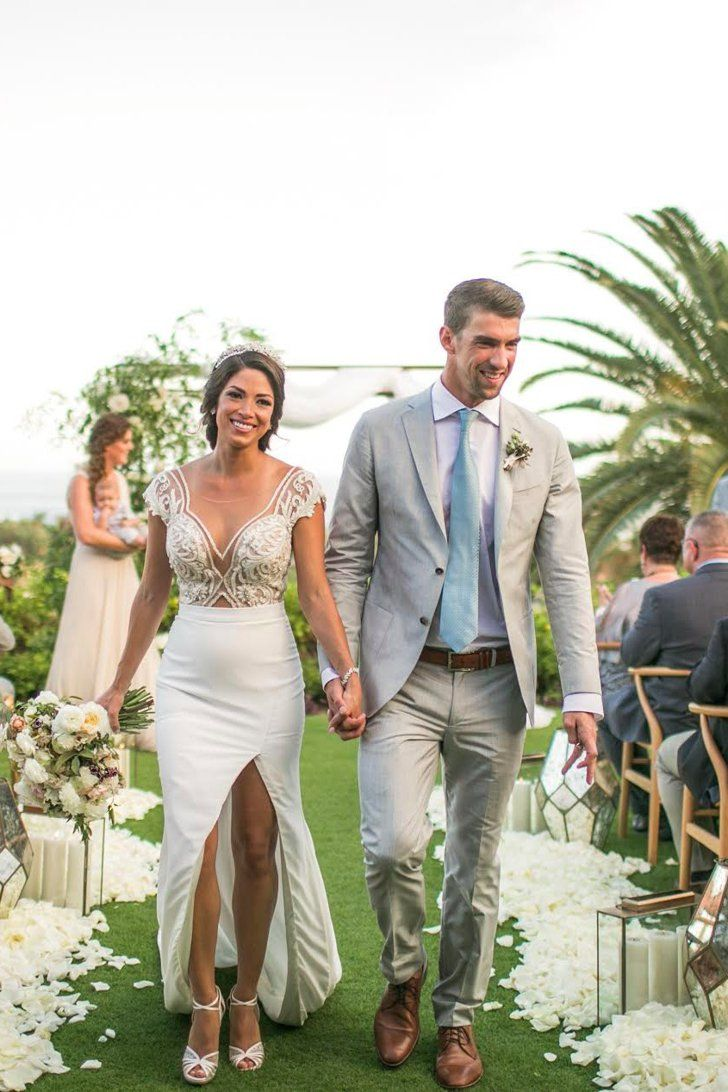 See Photos From Michael Phelps and Nicole Johnson's