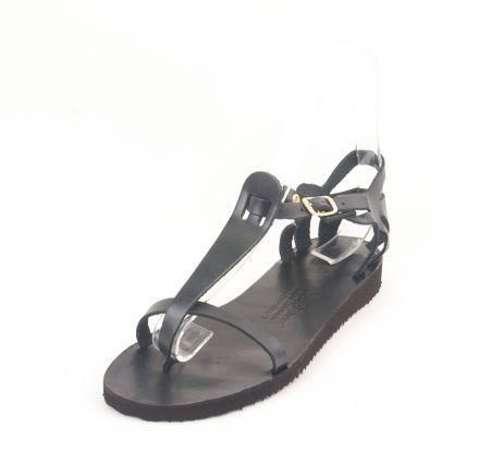 Dalis Leather   Σανδάλια Δερμάτινα Model 4-15 Μαύρο