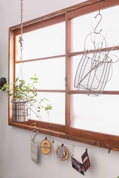 吊るす観葉植物の飾り方