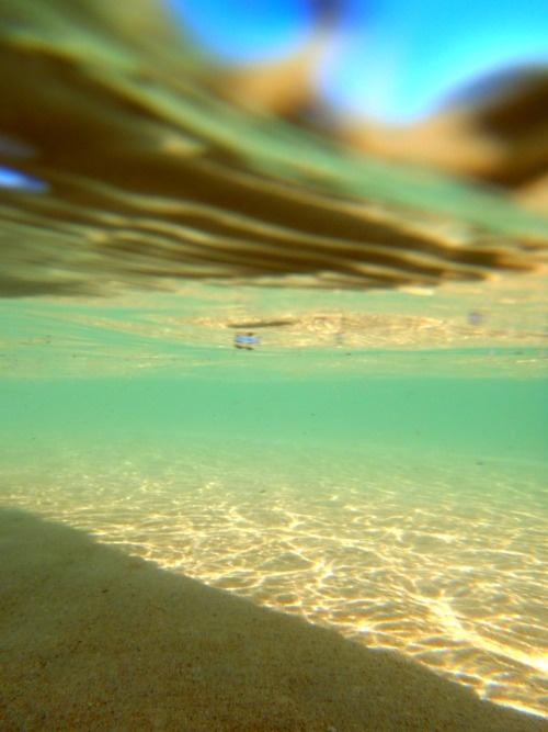 Seafoam waters