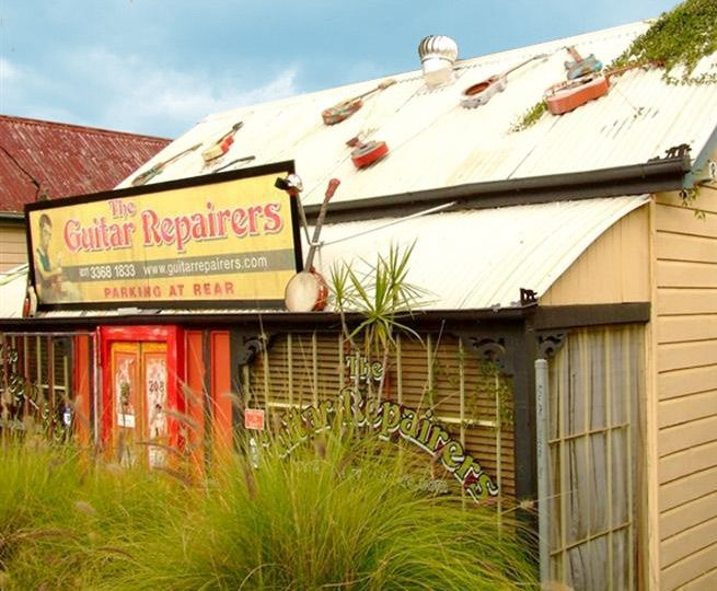 Anyone with a love of stringed things should pop in and visit John at Guitar Repairers, where the quirky façade is just the beginning. John's passion for what he does is infectious, and his collection of all that is stringed, rare, and beautiful warrants an hour or two. 208 Musgrave Rd, Red Hill QLD