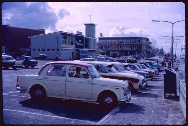 Surfers Paradise Life Saving Club  1963 Photo credit T.A. Moretti
