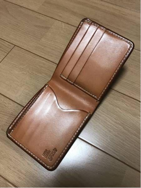 goro's ゴローズ コンチョ付き折札入れ サドル_画像3