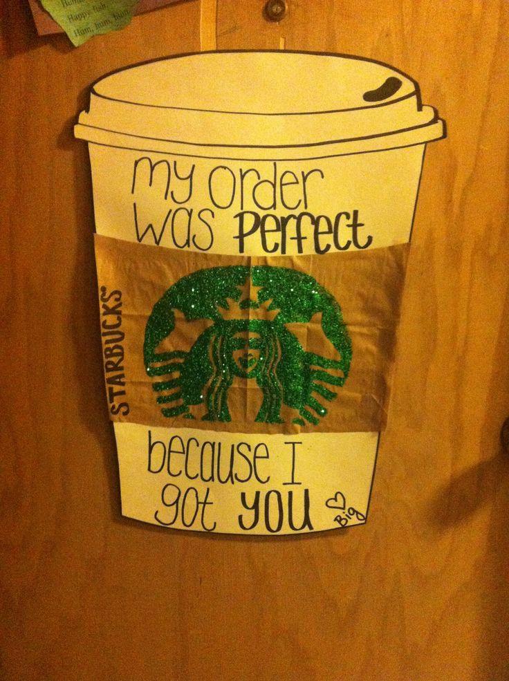 Starbucks craft for my little