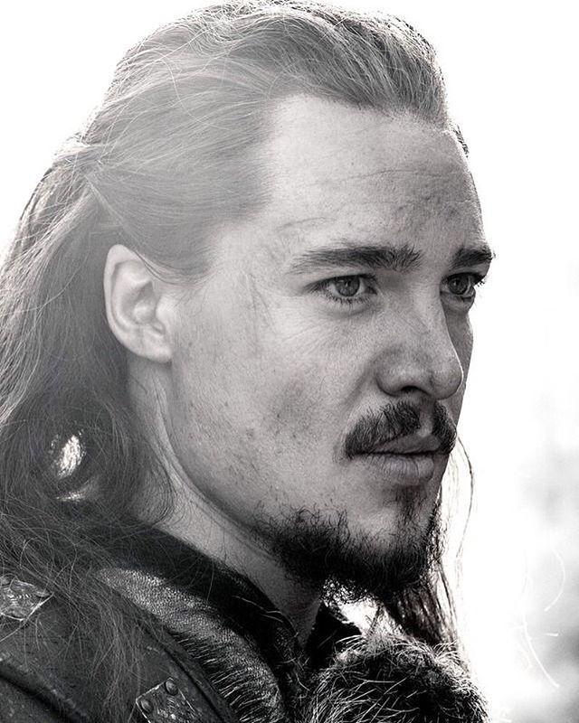 "Alexander Dreymon as Uhtred of Bebbanburg in ""The Last Kingdom"""