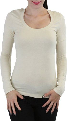 TAUPE long sleeve shirt, round neck *this will be altered for costume*