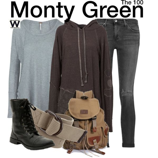 Inspired by Christopher Larkin as Monty Green on The 100.