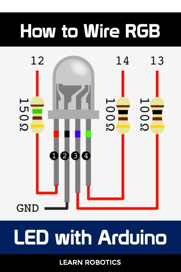 Program Rgb Leds With Arduino Arduino Arduino Led Cool Arduino Projects