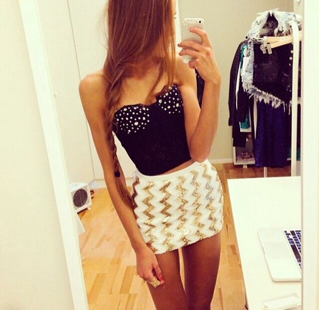 Summer outfit or club outfit