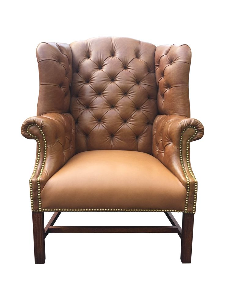 Vintage Chesterfield Chair on Chairish.com