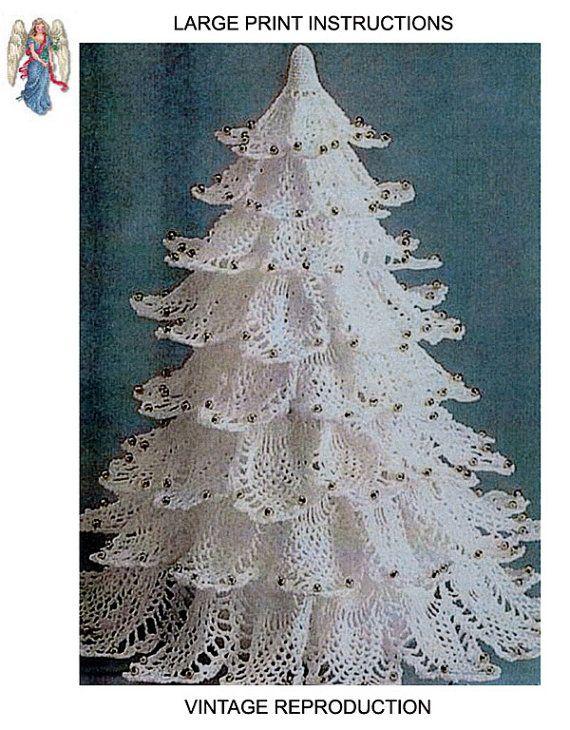 Pdf White Pineapple Christmas Tree Crochet By