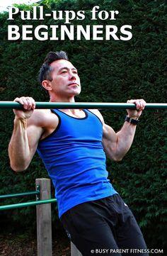 Pullups, Pull Ups, Back, Beginner, Lats, Muscle, V-Shape, V-Taper, Women, Exercise, Tutorial, How to