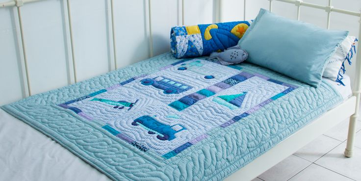 Transport #quilt - available on our website and in our shops. To see more about this product, click here : https://mekong-plus.com/quilts/baby-quilts/animal-baby-quilts-265.html