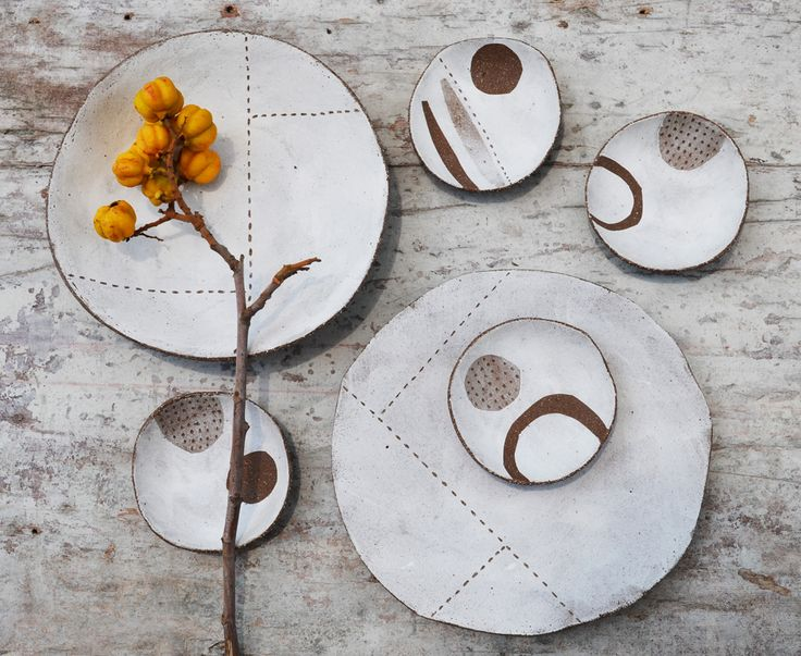 Handbuilt stoneware ceramics by Susan Simonini