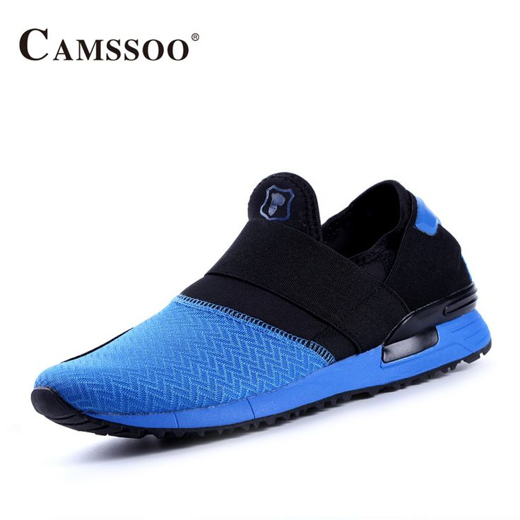 Camssoo Sports Shoes Men Ultra - Light Couple Running Shoes Breathable Damping Men Walking Shoes B2850 #Affiliate