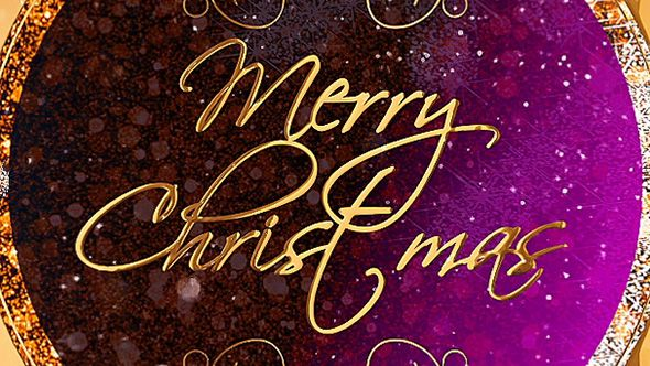 Christmas Card Christmas Cards After Effects Projects Glitter Christmas