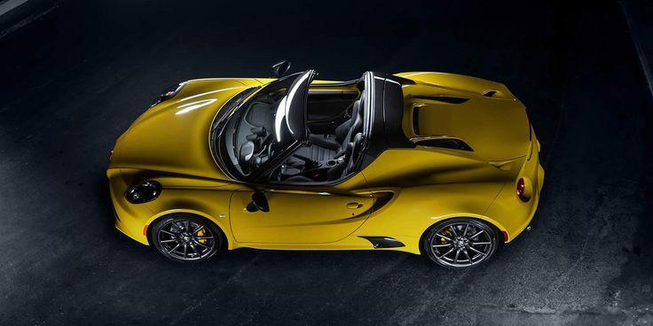 La nouvelle Alfa Romeo 4C Spider cabriolet : conduite enivrante! Découvrez l'Expérience Sky. Configurez votre voiture. Prix. Galerie. Performances.