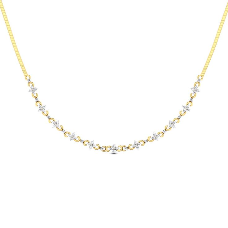 stud on small wanelo shop products layering best diamond gold quad horizontal solid necklace