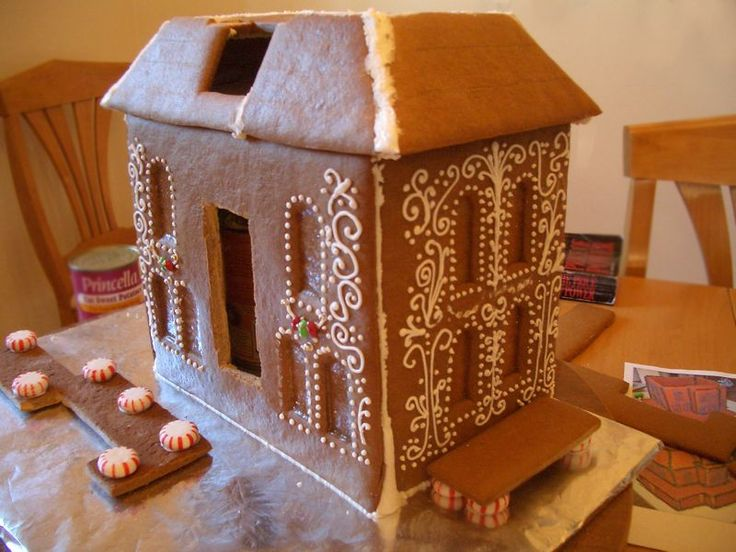 Cool Gingerbread House Templates | Gingerbread House - 2011 - Goodies By Anna
