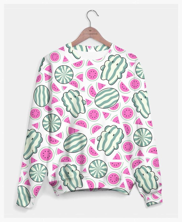 Watermelon Stevens! Cute Steven Universe Sweater by SlothgirlArt on DeviantArt  https://liveheroes.com/en/product/show/190836