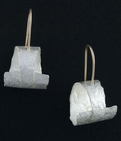 Kim Jones...silver earrings