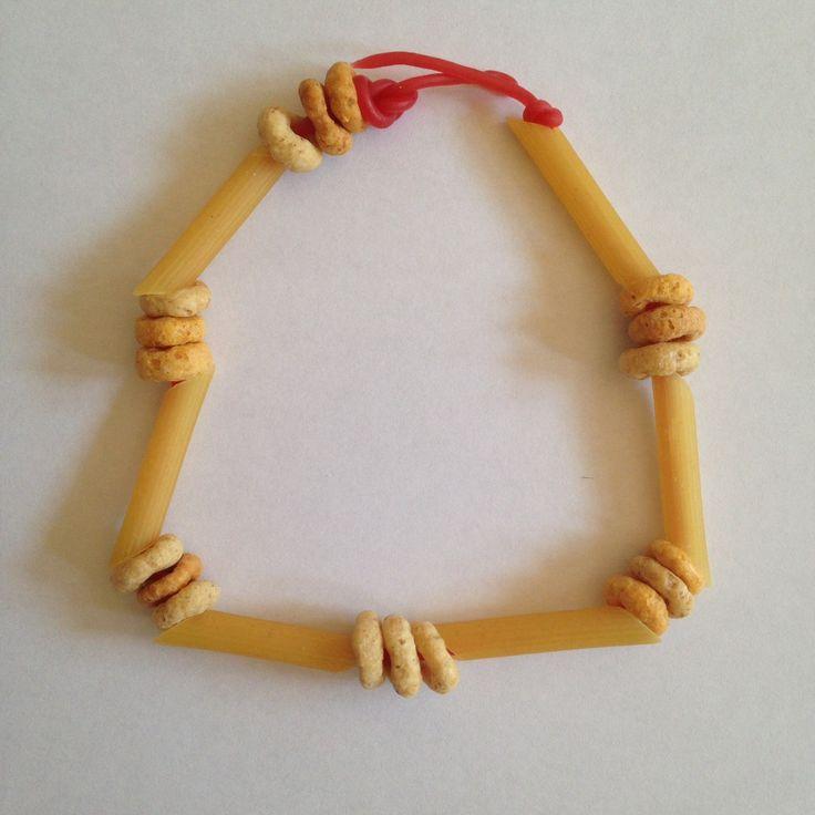 Kitchen cupboard necklaces