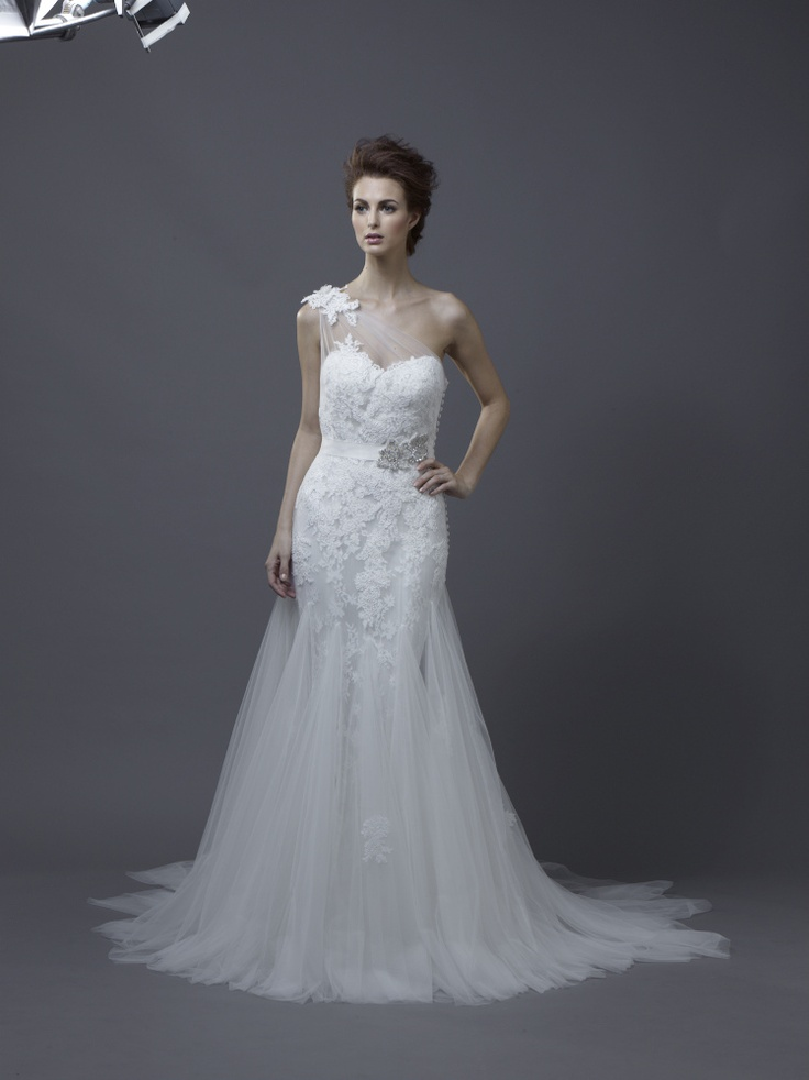 Igen Szalon Enzoani wedding dress - Heli #igenszalon #weddingdress #enzoani