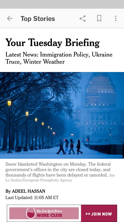 NYTimes – Latest News - screenshot