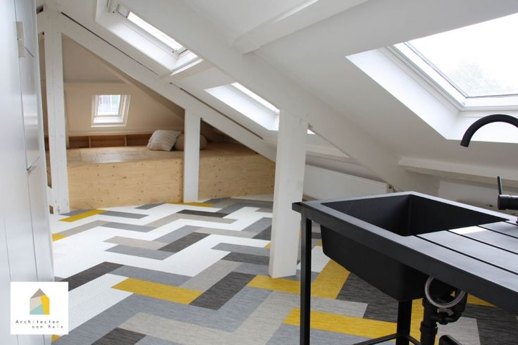 17 Best images about Zolder ontwerp on Pinterest   Haus, Attic spaces and Loft bedrooms