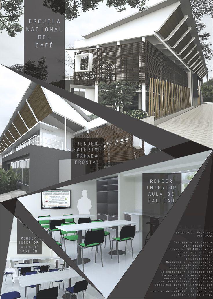 representación arquitectura diseño lamina - Google Search