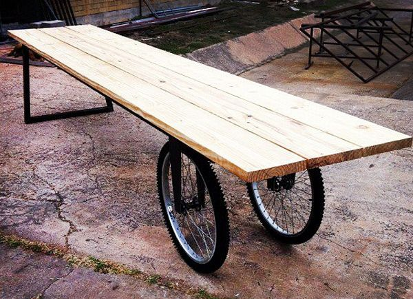DesignSTUDIOu0027s SingleSPEED Picnic Table
