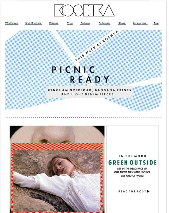 "SUB: "" This Week At Koshka: Picnic Ready..."" Nuove occasioni: il Picnic :-)"