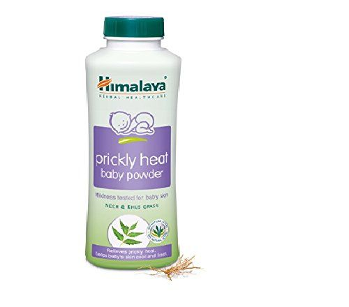 Himalaya Baby Prickly Heat Powder, 200g Prickly Heat Baby Powder provides relief from prickly heat and protects skin from infections. Neem has antimicrobial, anti-inflammatory and antioxidant prope…