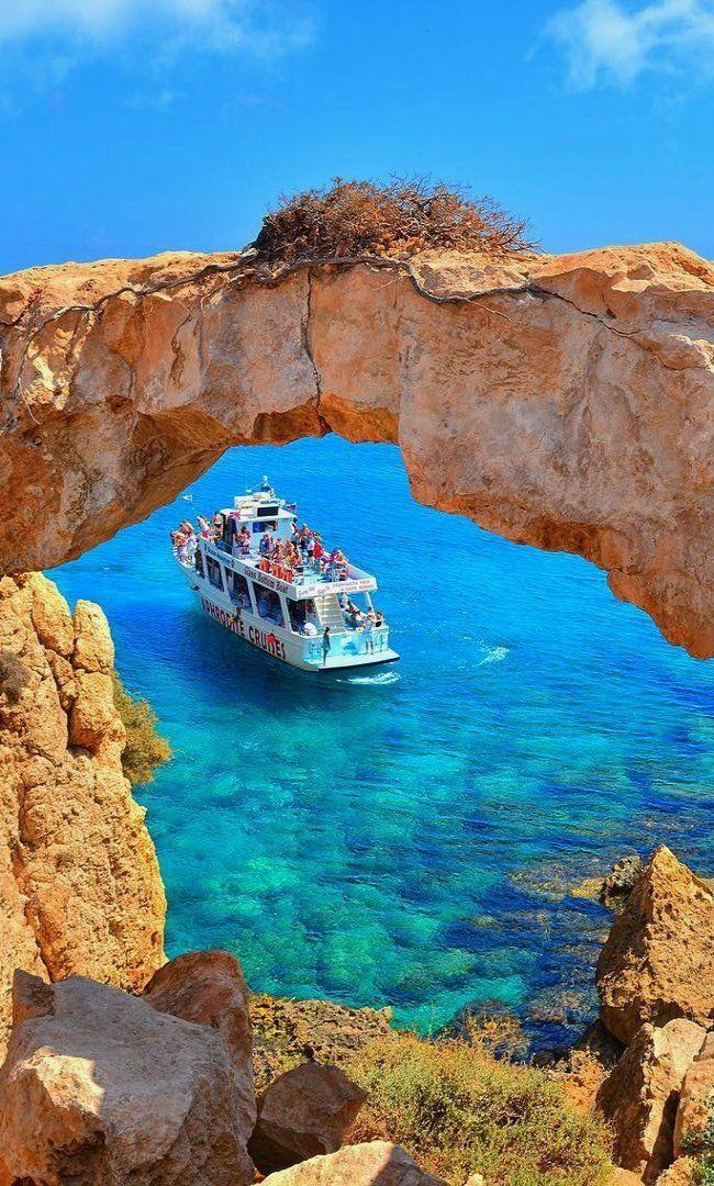 "Cape Greco natural ""Rock Bridge"", Ayia Napa, Cyprus | by kyrenian"