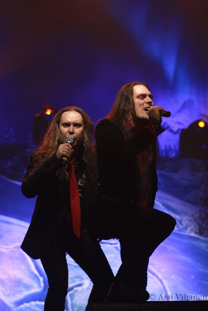 Jarkko Ahola & JP Leppäluoto / Raskasta joulua @ Logomo, Turku 14.12.2013
