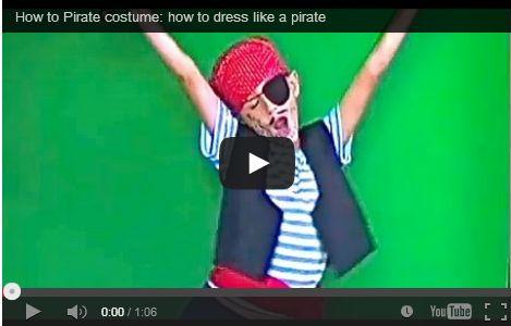 Costume carnevale fai da te da piratessa e pirata