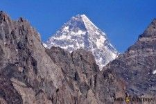 K2 summit in Karakorum, Pakistan.