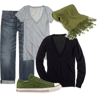 Greeeeeeeen!!!: Green Shoes, Colors Combos, Style, Weekend Wear, Outfit, Comfy Casual, Scarfs, Casual Looks, Olives Green